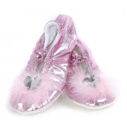 Chaussons roses (Pointure 25-26)