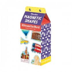 """Magneten """"Rond de wereld"""" (35 stuks)"""