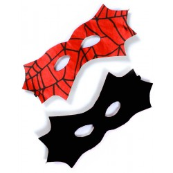 Omkeerbare Batman-Spiderman Mask