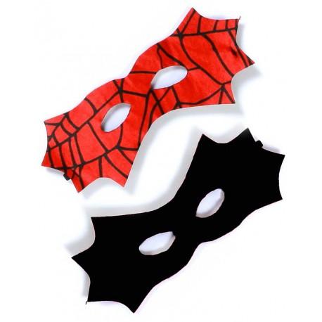 Masque Réversible Batman Spiderman