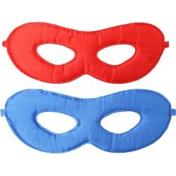 Omkeerbare superheld Mask (Blauw-Rood)