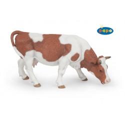 Figurine Vache broutant Papo (modèle 2)