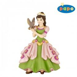 Papo Prinses met vogel Figuur