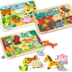 Chunky Puzzle Animaux Janod