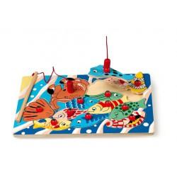 Magneet puzzel vissen (13 st)