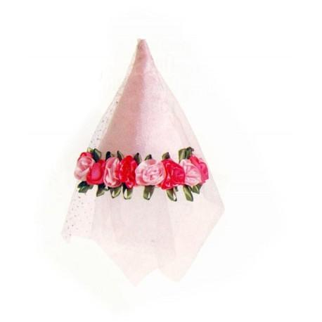 Trullala roze prinsessen-feeenhoed