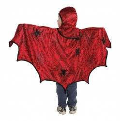 Super cape + muts Spiderman (4-6 jaar)