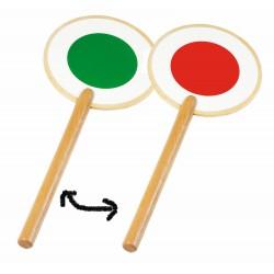 Bâton de signalisation en bois
