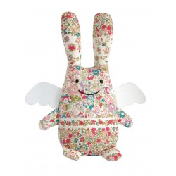 Lapin-Ange Fuchsia musical Trousselier