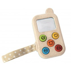 Téléphone portable en bois