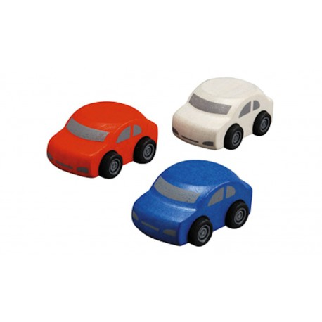 3 Familiewagens Plan Toys (model 1)
