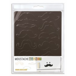 12 Aimants Moustache