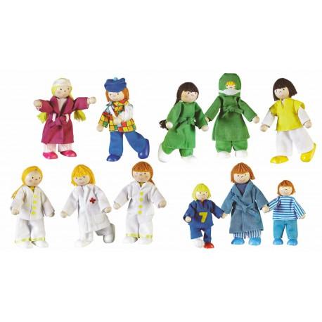 Set de 11 poupées Hopital
