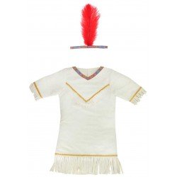 Robe d'indienne (3-5 ans)