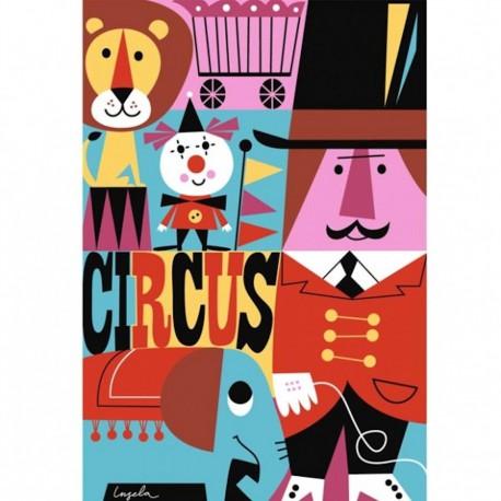 Poster Circus (Ingela P Arrhenius)