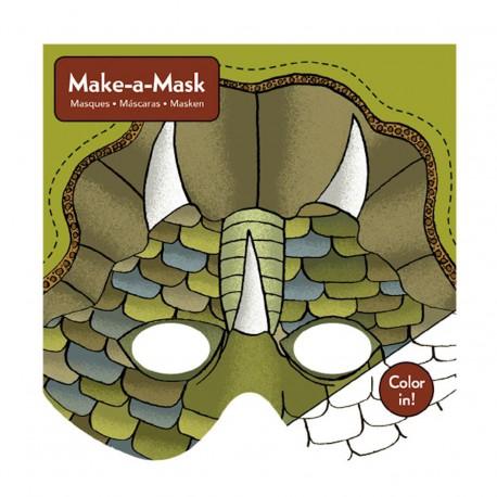 Maak een masker Dino (20 maskers)