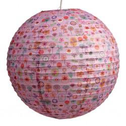 Lampion rond - Flowershop