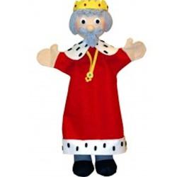 Marionnette Roi Trullala (30 cm)