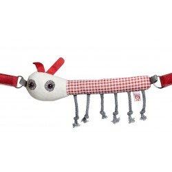 Chaine de poussette - Rupert la chenille