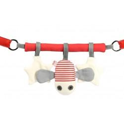 Chaine de poussette - Peter la mouche rouge