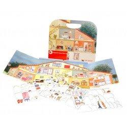 Magnetisch boek - Huis