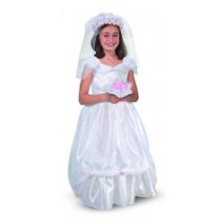 Bruid Kostuum (3-6 jaar)