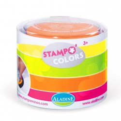 """4 encreurs Stampo Colors """"Fluo"""""""