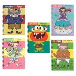 Livre de coloriage Flip & Draw