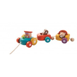"Houten Trein ""Happy Train"" - Plan Toys"