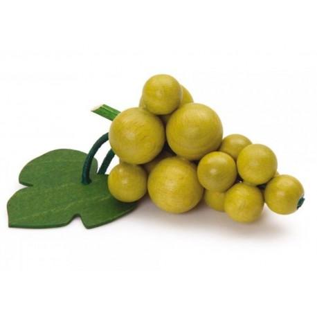 Houten groene druiven