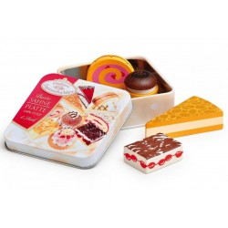 Boîte de petites pâtisseries