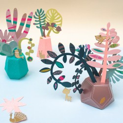"Jardin Secret ""mes plantes tropicales"" (Mini Labo)"
