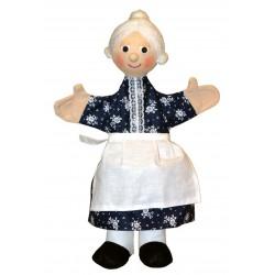 Marionnette Grand-mère Trullala (30 cm)