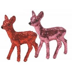 Glitterende Bambi (8 cm)