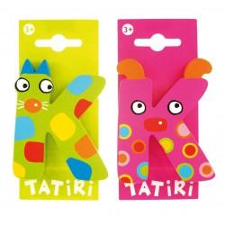 Lettre en bois Tatiri - K