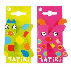 Tatiri houten letter - K