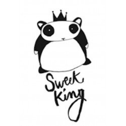 "Sticker mural ""Sweet King"" Le Prédeau"