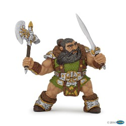 Figurine Nain guerrier PAPO