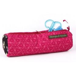 Pennenzak Roze Bloemen - Georges & Rosalie