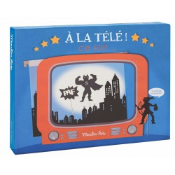 Televisie Koffertje- Moulin Roty
