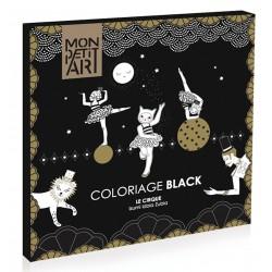 Coloriage Black Le Cirque - Mon Petit Art
