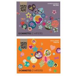 Kunstenaars Stickers - Mon Petit Art