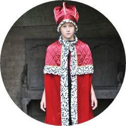 Cape Roi et couronne (de 6 à 11 ans)