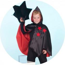 Cape de magicien Aden (4-6 ans)