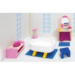 """Salle-de-bain """"Château"""""""