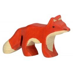 Figurine en bois Renardeau