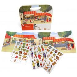Magnetisch boek - Kleine Market