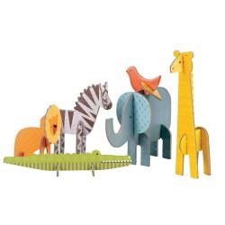 3D Puzzels - Wilde dieren