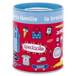 """Tirelire """"Pecule Famille"""""""