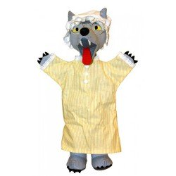 Trullala Wolf Handpop (40 cm)